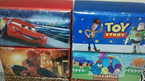 caixa guarda brinquedos puf- frete grátis