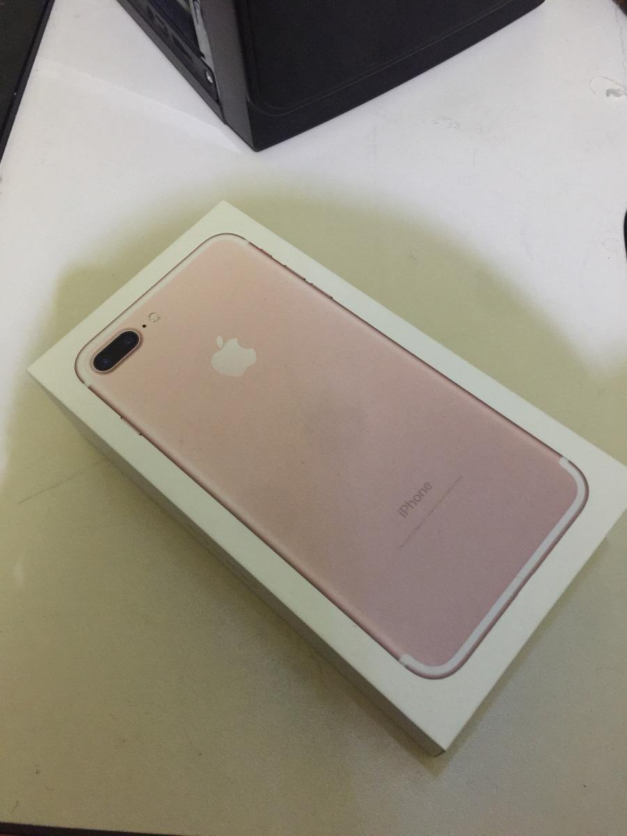 db228e87b43 Caixa iPhone 7 Plus Rosa - R$ 45,00 em Mercado Livre