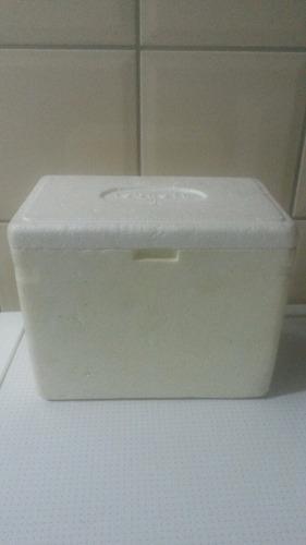 caixa isopor 23x14x18cm - 2 unidades