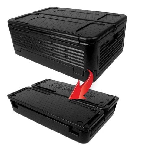 caixa isopor grande dobavel 60 litros cooler