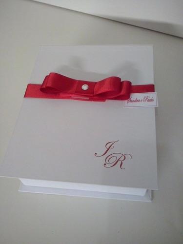 caixa livro para padrinho