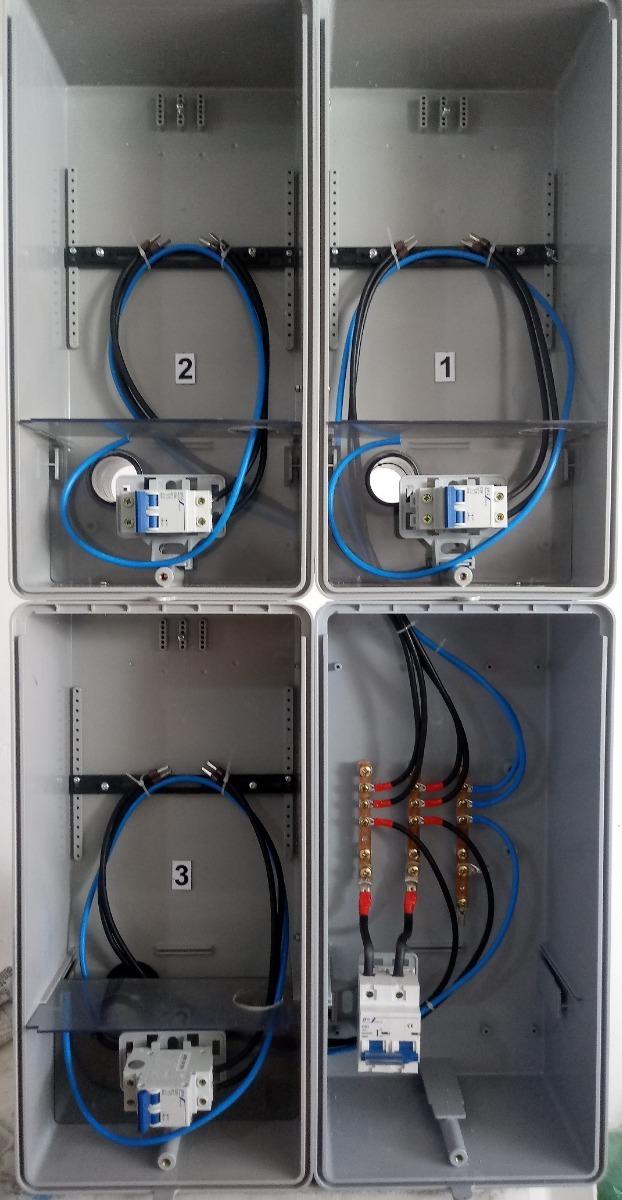 aa13ca1caca caixa luz 3 medidores padrão edp bandeirante   cpfl relógio. Carregando  zoom.