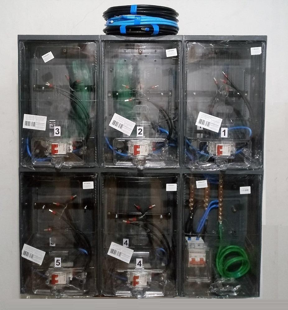 e123ab77196 caixa luz 5 medidores cabo 35mm padrão eletropaulo enel sp. Carregando zoom.