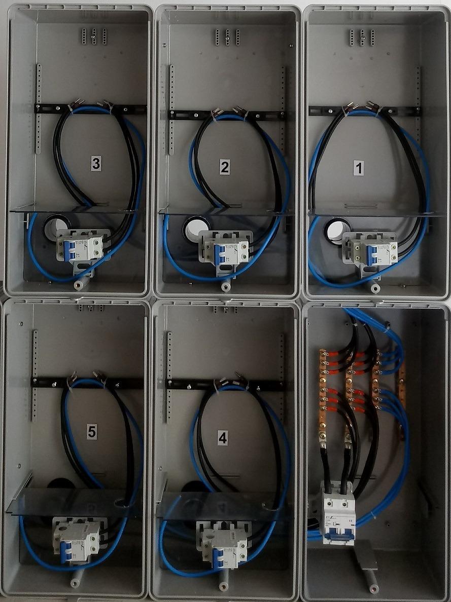 4c710f8e1de caixa luz 5 medidores padrão edp bandeirante relógios mediçã. Carregando  zoom.