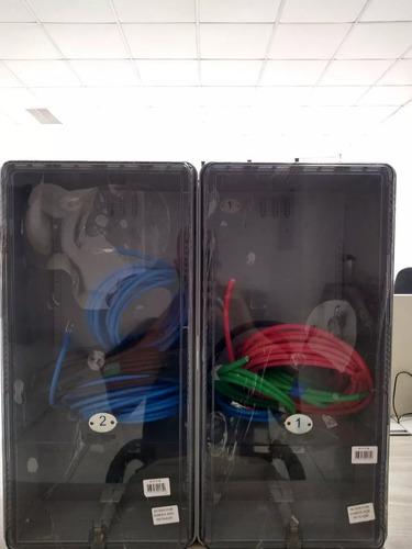 caixa luz p/2 medidor visor rua padrão bandeirantes 10mm