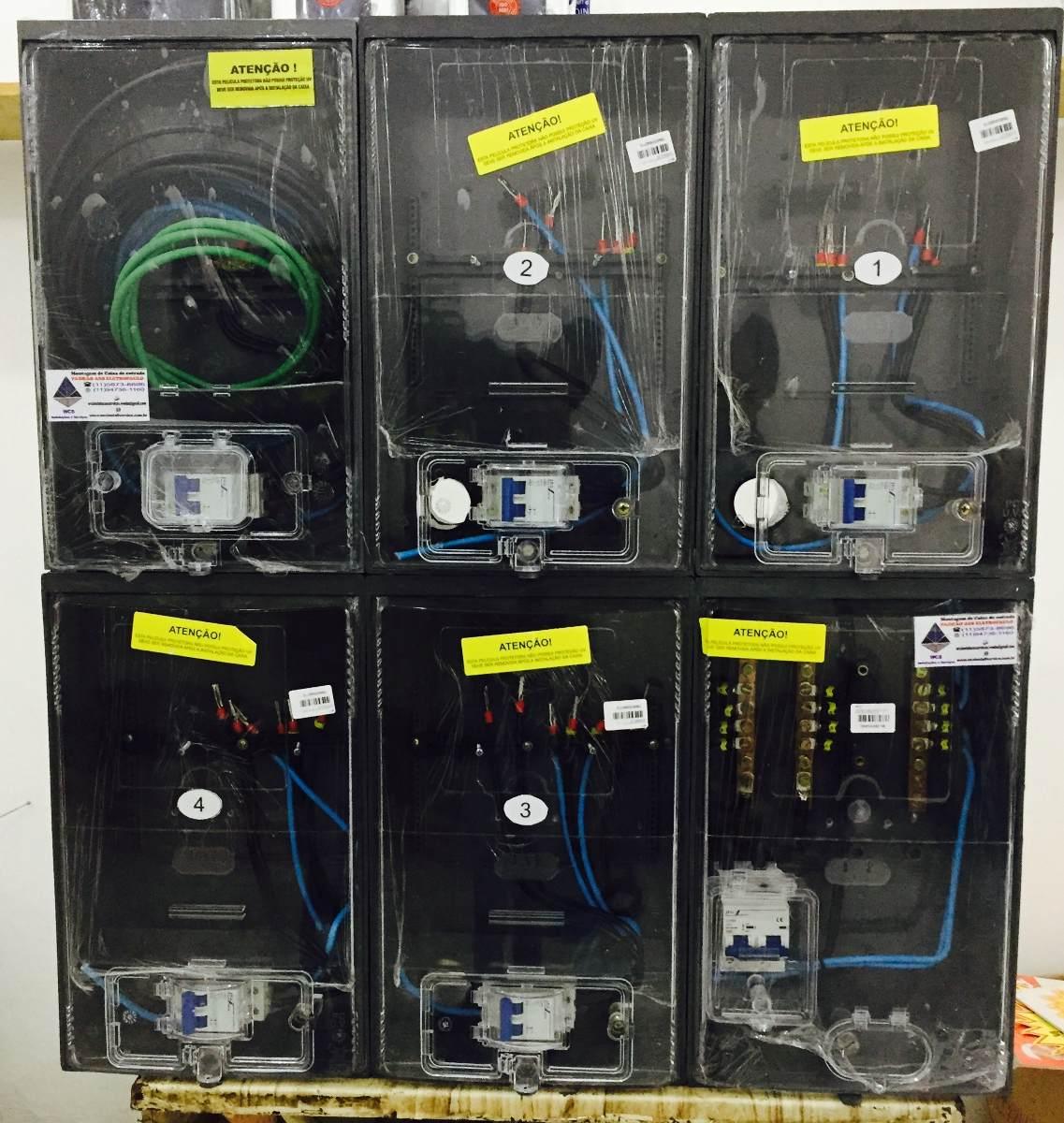cc578b9c115 caixa luz para 5 medidores policarbonato padrão eletropaulo. Carregando  zoom.