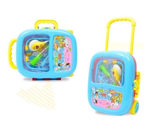 caixa maleta brinquedo infantil presente doctor kit médico
