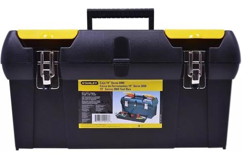 caixa maleta de ferramentas 19 profissional stanley 19-013