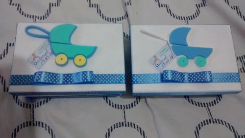 caixa mdf decorada para chá de bebe ,batizado .