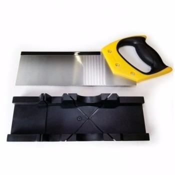 caixa meia esquadria corta em angulo de 45º/90º com serrote