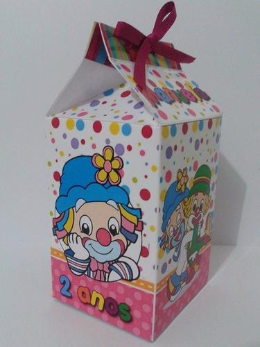 caixa milk personalizada - 30 unidades