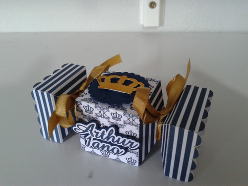 caixa milk principe rei coroa  personalizadas lembrancinhas