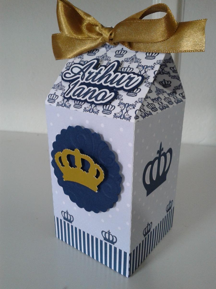 caixa milk principe rei coroa personalizadas lembrancinhas. Carregando zoom.