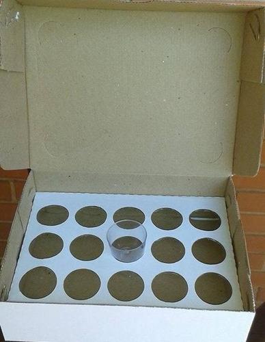 caixa mini sobremesa 15 unidades - embalagem 20 unidades