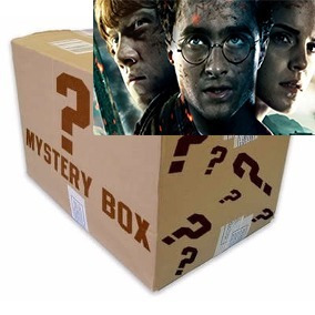 caixa misteriosa mystery box harry potter