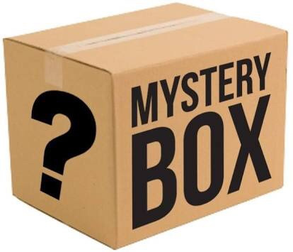 caixa misteriosa mystery box surpresa - veja