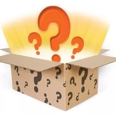 caixa misteriosa mystery box surpresa - veja (modelo 4)