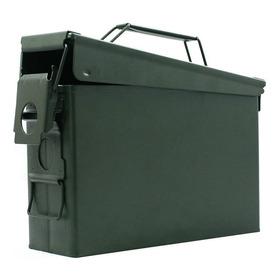 Caixa Multiuso 27x19x10cm Munição Equipamento Metal Avb As30
