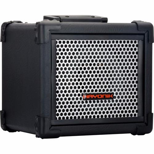 caixa multiuso iron 80 20w bluetooth preta hayonik usb fm sd