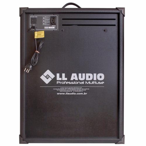 caixa multiuso ll trx12 bluetooth usb/fm - 80w rms