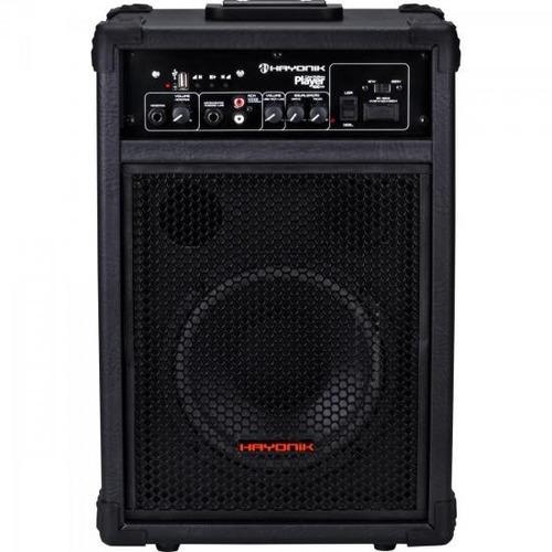 caixa multiuso portátil usb 60w rms player400 hayonik