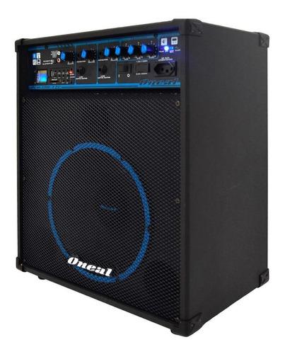 caixa oneal multiuso ocm-390 usb/bt/80w  com bateria 12v