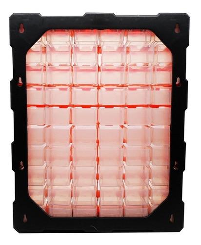 caixa organizadora 60 gaveta multiuso 120 divisorias plastic