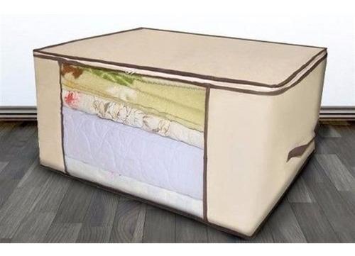 caixa organizadora de guarda roupa cobertor kit 30 unidades