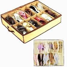 caixa organizadora de sapatos brinquedos roupas 12 divisoria