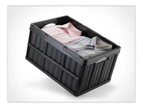 caixa organizadora dobrável multiuso empilhável arthi