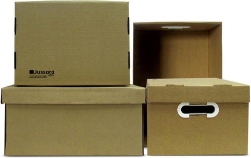 caixa organizadora multiuso kraft grande