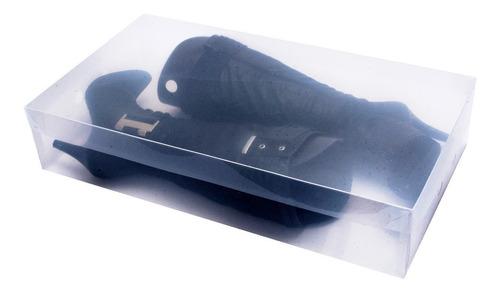 caixa organizadora para bota transparente c2743