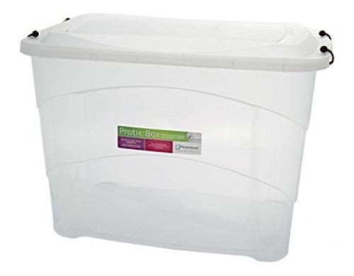 caixa organizadora plastica gigante 90 litros organizador de