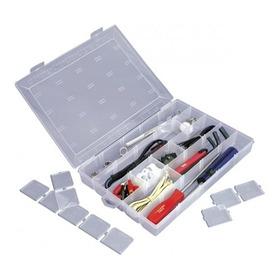 Caixa Organizadora Plástico Transparente Divisória Removível