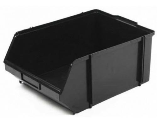 caixa organizadora preta  n° 7