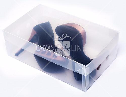 caixa organizadora transparente sapatos feminino