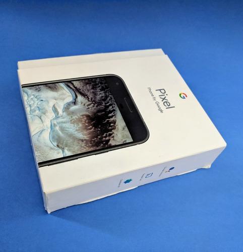 caixa original celular google pixel preto 1s 32gb