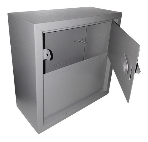 caixa p/ carta grade ou embutir aber. vertical nº05 - fercar