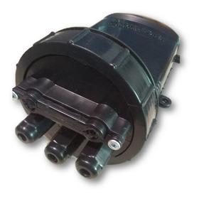 Caixa P/ Emenda Fibra Óptica 12 Fo (1 Unid.)- Preta