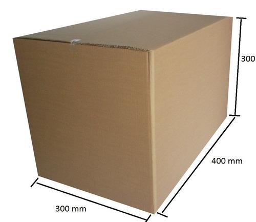 caixa p / mudanças 40x30x30 - pacote 10 unidades+ frete sp