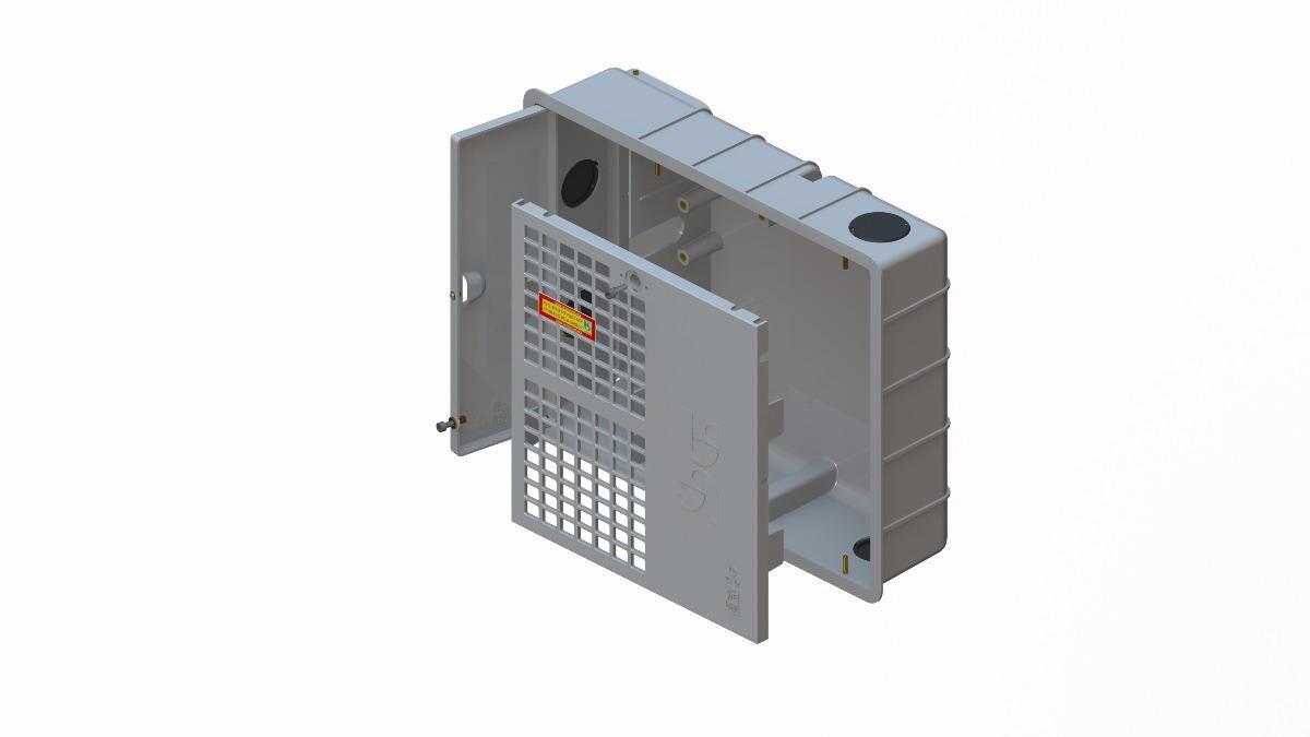 5c590174f5c caixa padrão sabesp p  1 ou 2 hidrômetros de água. Carregando zoom.