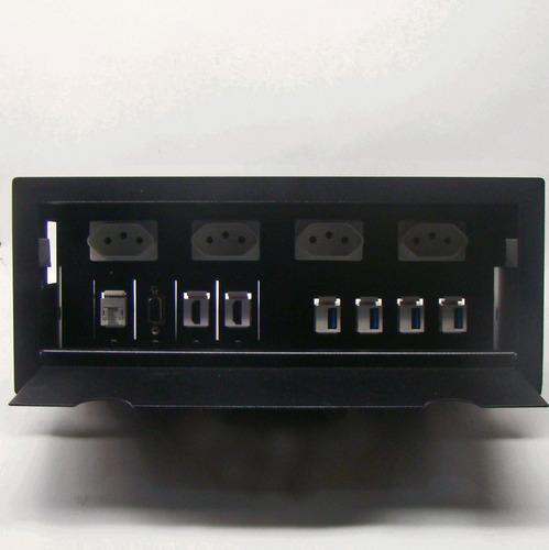 caixa painel multi conexão eletrica mesa de reunião 2h4urvrv