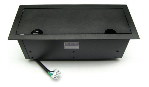 caixa painel multi conexão eletrica mesa de reunião h2r6v