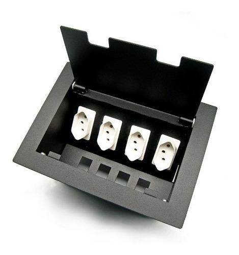 caixa painel multi conexão para mesa de reunião oct02bra2 bf