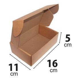 Caixa Papelão Correio Sedex Pac 16x11x5 Montável C/ 100 Unid