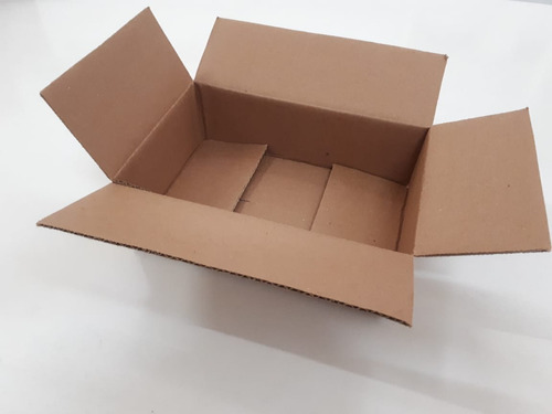 caixa  papelão correio sedex pac 16x11x6 montavel c 50 caixa