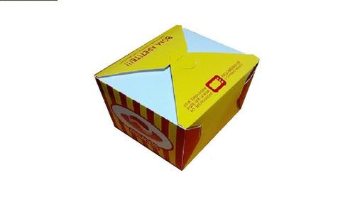 caixa para assados - pacote com 100 unidades