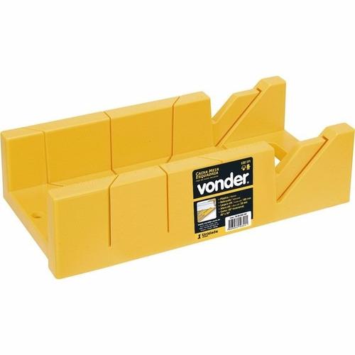 caixa para corte de meia esquadria angulo 45º