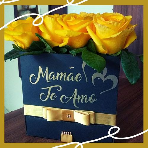 caixa para flores e doces