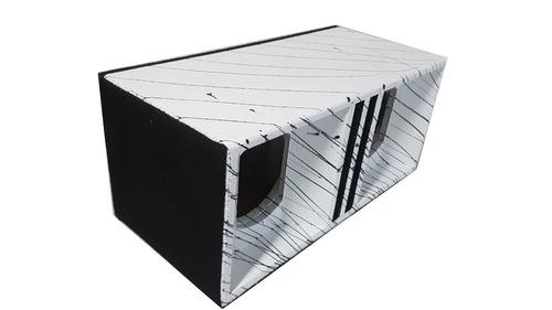 caixa para médio de 6 pol cornetada som